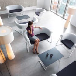Office and Home Solutions - Profim Hover Contemporary Contract Furniture