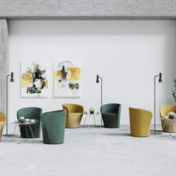 Office and Home Solutions - Profim Nu Spin Modern Armcahirs And Coffee Tables